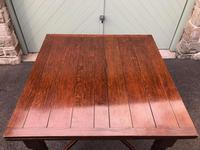 Antique Oak Extending Dining Table (7 of 10)