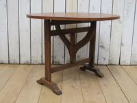 Antique Vendange Wine Tasting Table (3 of 9)