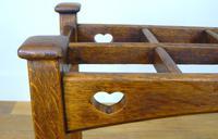 Excellent Arts & Crafts Oak Stick Stand c.1910 (8 of 11)