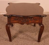 Louis XV Coffee Table in Oak - 18th Century (3 of 11)
