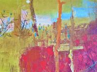 French Expressionist, Pierre Lavarenne, Paysage Jaune, Oil on Canvas c.1955 (4 of 6)