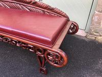 Antique Oriental Chinese Opium Day Bed (4 of 11)