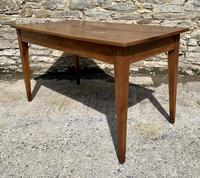 Small Antique French Elm Farmhouse Table (14 of 22)