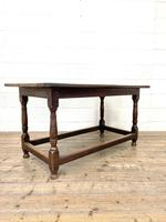 18th Century Antique Joined Oak Table (2 of 10)