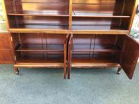Antique Mahogany Library Bookcase (6 of 13)
