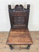 Victorian Carved Oak Chair (2 of 9)