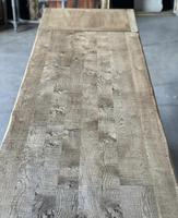 Superb Rustic Large Bleached Oak Farmhouse Table with Extensions (27 of 36)