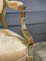 Super Pair of French Upholstered Armchairs (7 of 26)