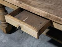 Rustic French Oak Farmhouse Kitchen Dining Table (8 of 16)