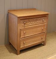 Small Limed Oak Chest of Drawers (4 of 10)