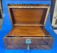 Victorian  Walnut Writing Slope with Secret Drawers (8 of 17)