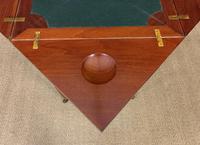 Edwardian Inlaid Mahogany Envelope Card Table (14 of 14)