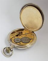 Antique 1910s Silver Pocket Watch by Revue Thommen (4 of 5)
