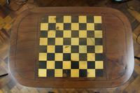George IV Inlaid Mahogany Chess Table (12 of 13)