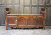 Antique French Coffer / Window Seat (6 of 7)