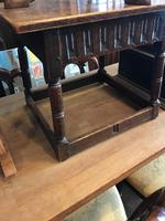 Oak Square Coffee Table (7 of 8)