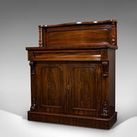 Antique Chiffonier, English, Mahogany, Sideboard, Cabinet, Victorian, Circa 1880 (7 of 12)