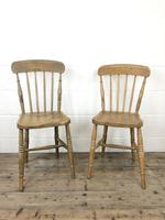 Set of Four Mix & Match Farmhouse Chairs (8 of 10)