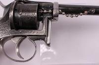 Belgian 6 Shot 9mm Fagnus Double Action Pin Fire Revolver (6 of 6)