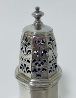 Small 18th Century Solid Sterling Silver Sugar Caster Shaker by Thomas Bamford (7 of 13)