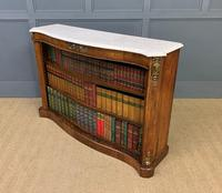 19th Century Rosewood Open Bookcase (12 of 13)