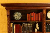 Important Gothic Revival Oak Open Bookcase - 19th Century - France (7 of 11)