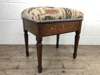 Antique Victorian Rosewood Piano Stool (10 of 14)
