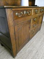 Neat 18th Century Oak Dresser (6 of 10)