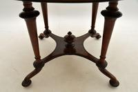 Antique Victorian Walnut Dining Table (7 of 8)