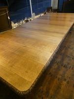 Large 19th Century Oak Table by James Cawley (3 of 9)