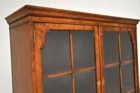 Antique Burr Walnut  Bookcase (8 of 9)