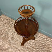 Victorian Rosewood Circular Antique Occasional Table (6 of 7)