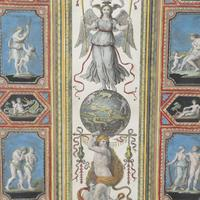 Set of Four Studies of Raphael Frescoes (4 of 6)