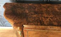 Victorian Burr Walnut Inlaid Credenza With Ormolu Mounts (13 of 27)