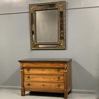 Large 19th Century French Repousse Mirror (7 of 7)