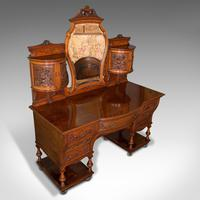 Fine Antique Dressing Table, English, Walnut - Gillow & Co, Victorian (6 of 12)