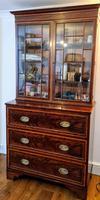 Regency Style Mahogany Secretaire Bookcase c.1840 (4 of 4)