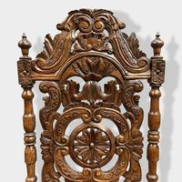 17th Century High Back Armchair (5 of 14)