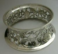 Rare English Solid Sterling Silver Potato Dish Ring London 1917 Antique (11 of 12)