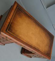 Victorian Mahogany Pedestal Desk (11 of 12)