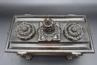 Charming Late 19th Century Bronze Sarcophagus Desk Set (5 of 5)