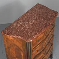 Marble Top Walnut Chest of Drawers (5 of 15)
