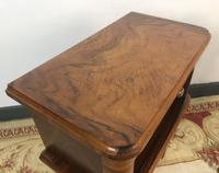 Vintage French Mahogany Cabinets Bedside Tables (6 of 14)