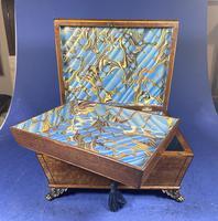 Regency Burr Maple  Jewellery Box With Inlay (8 of 16)