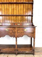 Antique Welsh Oak Pot Board Dresser (4 of 10)