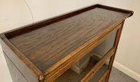 Antique Oak Stacking Lawyer's Bookcase (5 of 16)