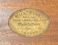 Good Quality Rosewood Writing Slope / Box by the Famous Maker William Eyre (3 of 12)