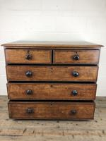 19th Century Antique Oak Chest of Drawers (12 of 13)