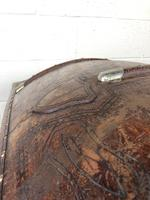 Large Leather Bound Dome Top Trunk (9 of 15)