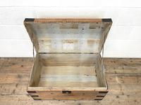 Rustic Antique Pine Dome Top Trunk (6 of 9)